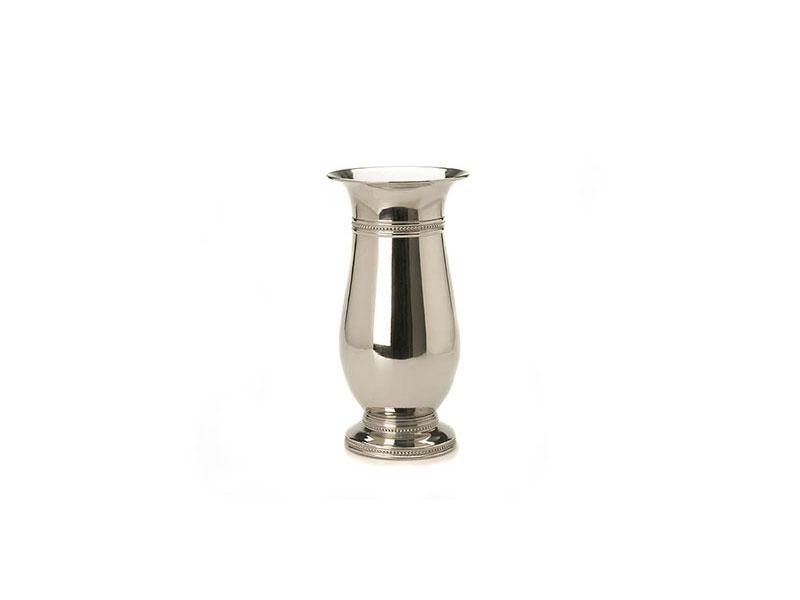 Silver Chrome Vase Decor Hire In Cornwall